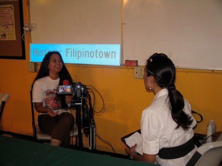 PWC's Executive Director being interviewed by The Filipino Channel